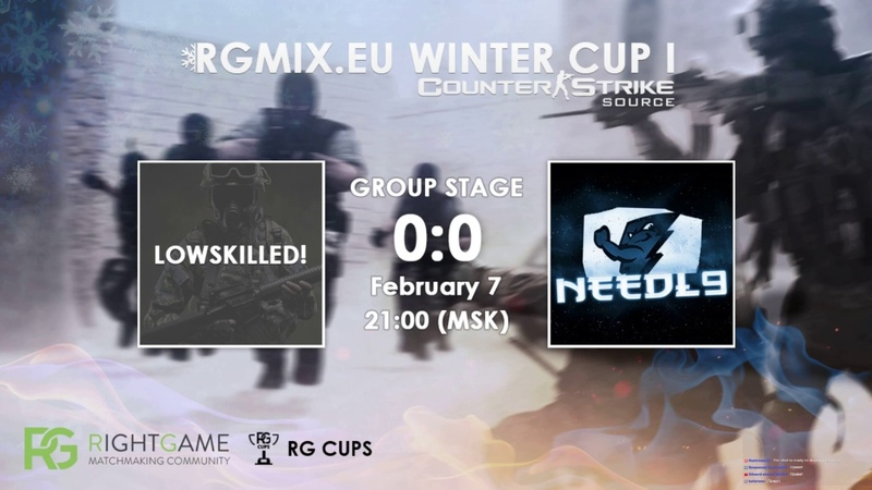 RGMIX.eu Winter Cup 1 [LANDORGES VS I love THC] Group A