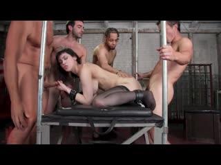 Audrey Noir Bound GangBangs  [BDSM, porno, Sex, kinky, hardcore, rough, бдсм, секс, порно, жестко]