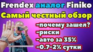 Frendex самый честный обзор отзывы Френдекс аналог Finiko Финико
