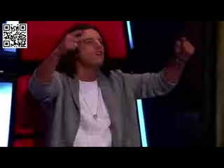 """Шоу """"Голос"""" Голландия - Гайя Айкман и Джефферсон с песней """"Когда увидимся вновь"""" — - Gaia Aikman vs. Jefferson – """"See You Again"""