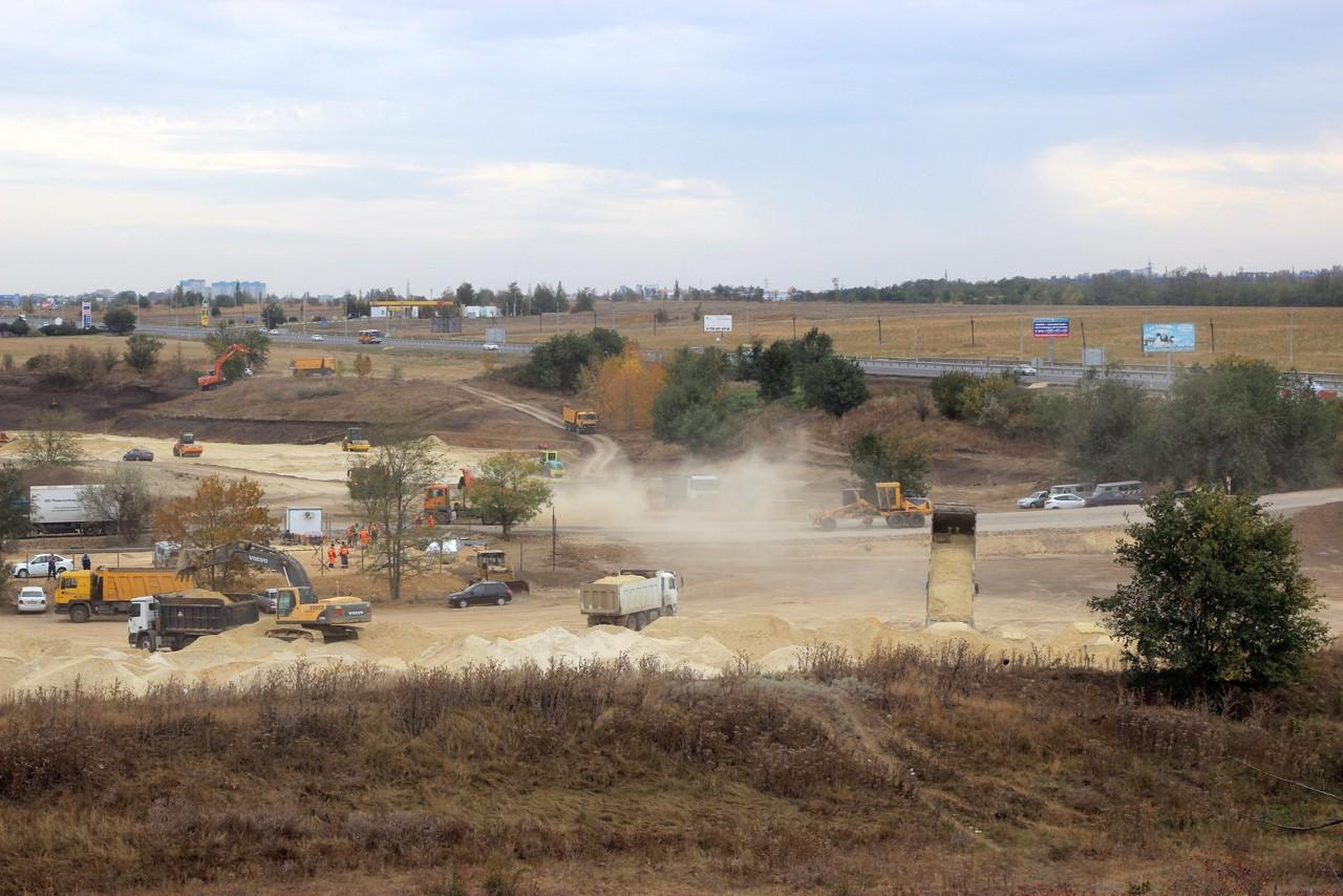 Новая развязка на трассе А-280 соединит Северный и перспективный Западный обходы Ростова