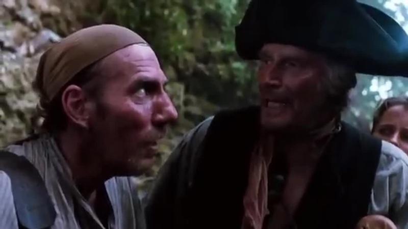 Treasure Island 1990 Charlton Heston Christian Bale Oliver Reed Christopher Lee Richard Johnson Pete Postlethwaite