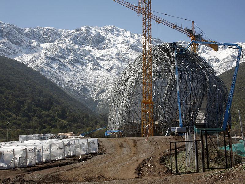 В процессе: Храм бахаи Южной Америки / Hariri Pontarini Architects