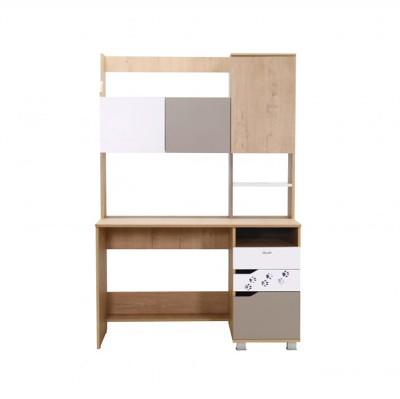 «Хаски» № 12 стол письменный с надстройкой