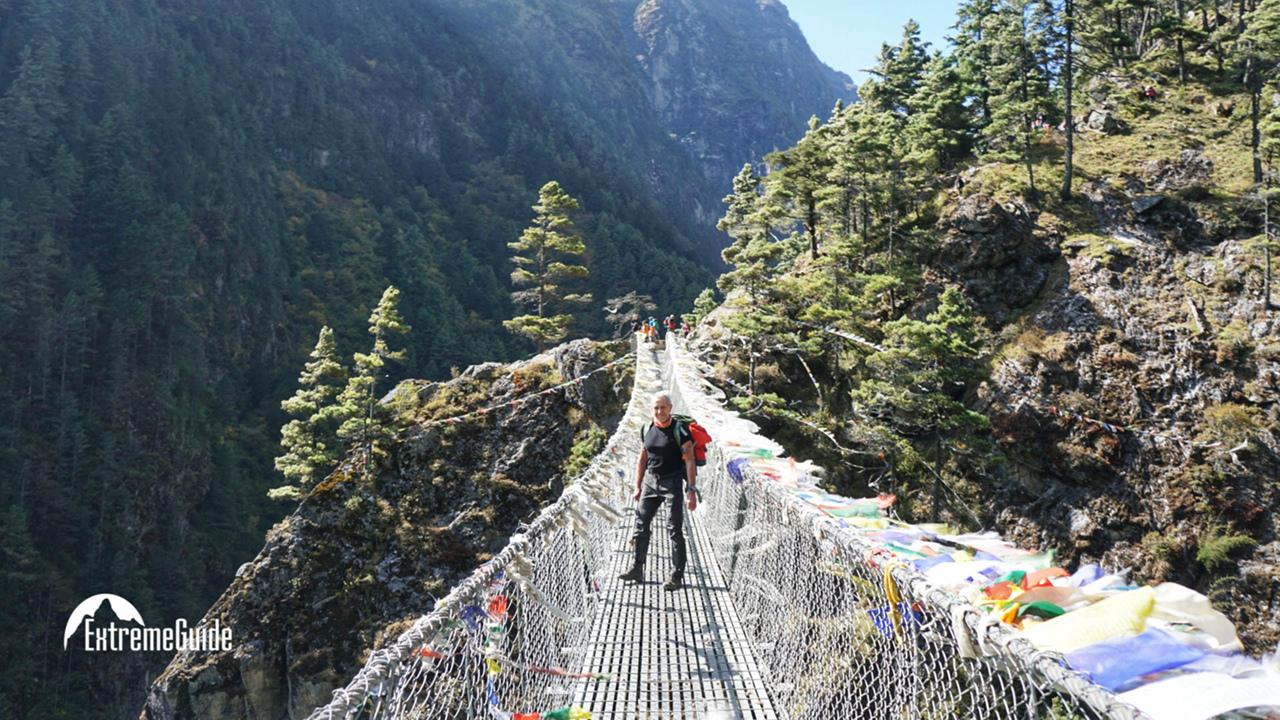 подвесной мост Хиллари Намче-Базар восхождение на Ама-Даблам