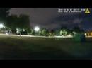 Чикаго США. Негр с ножом вышел против полиции.