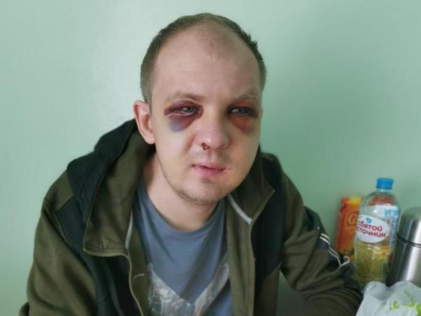 Избитому ОМОНом таксисту из Гродно должны были вынести приговор за насилие над м...