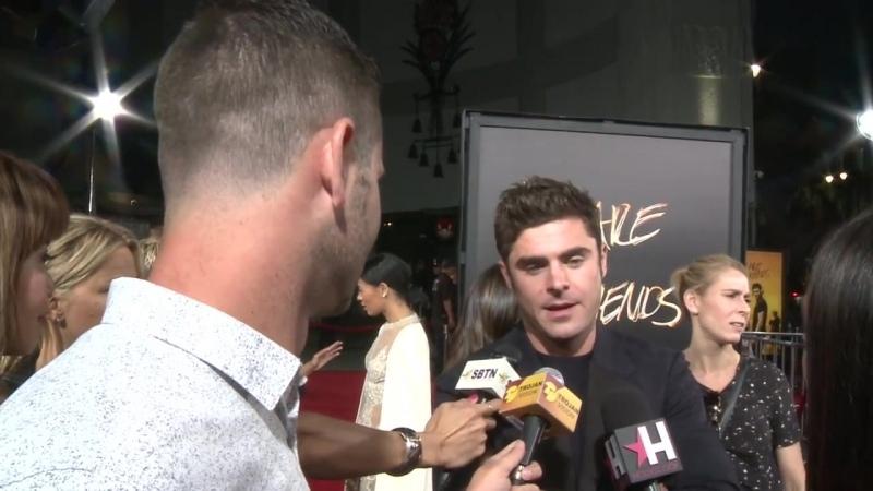 Интервью с премьеры фильма WAYF в Лос-Анджелесе (20.08.2015)