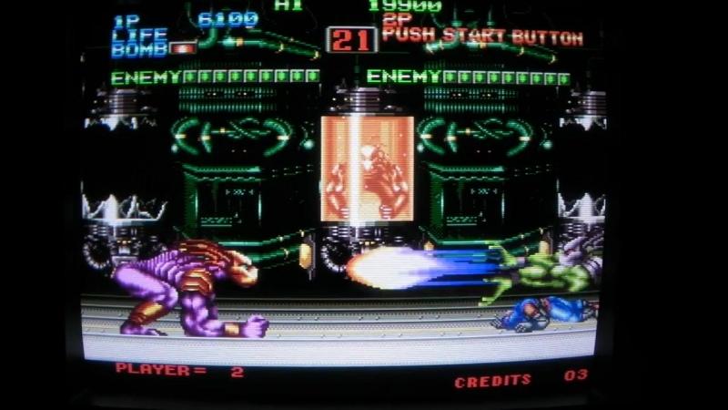 Eight man 8Man Neo Geo 1991 SNK Pallas