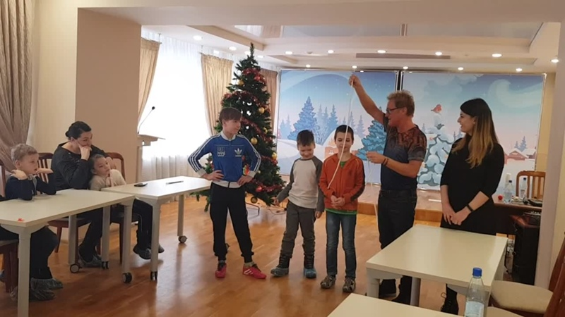Работа с детьми в центре семья