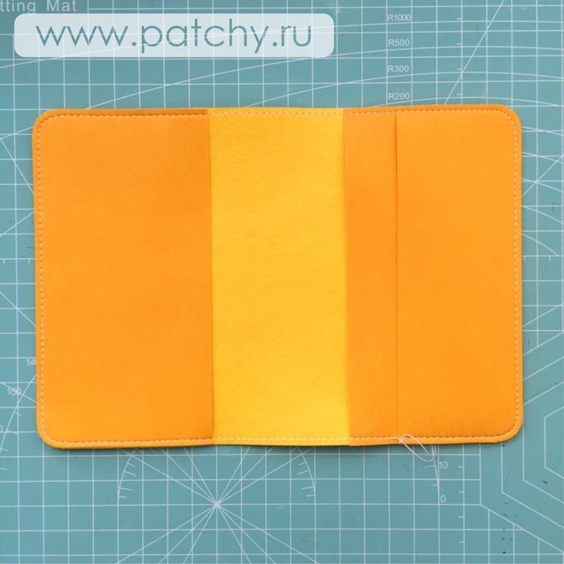 Мастер-класс «Обложка для паспорта», изображение №18