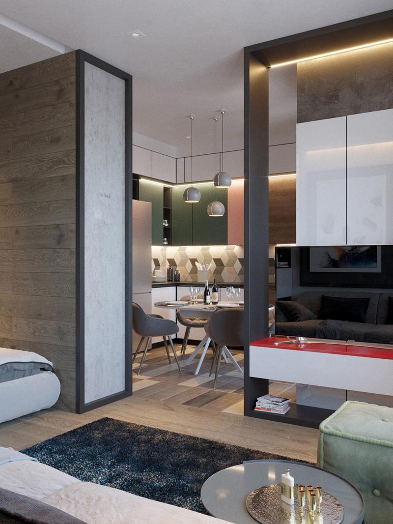 Дизайн-проект квартиры 38 м.