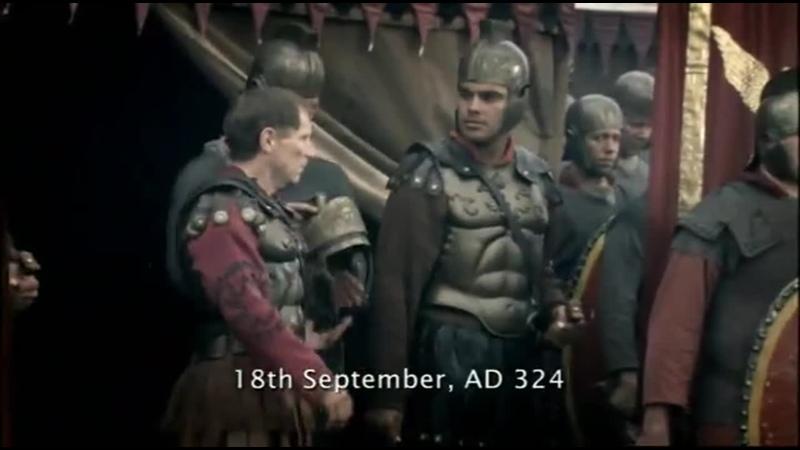 BBC Древний Рим Расцвет и крушение Империи Константин 5серия