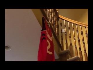 Болельщик «Торонто» вывел из обращения номер Кавая Леонарда у себя дома