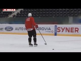 Сегодня «Металлург» сыграет с хоккеистами Чехии