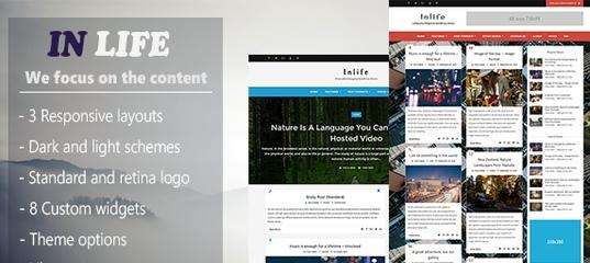 InLife v1.4.1 – Simple Flexible Blog/Magazine