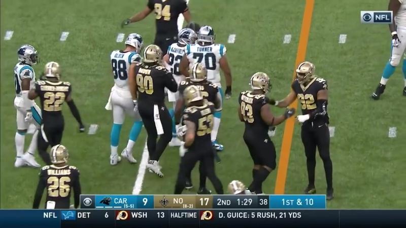 Christian McCaffrey Racks Up 133 Total Yds 2 TDs _ NFL 2019 Highlights