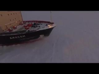 Ледокол Диксон в Белом море