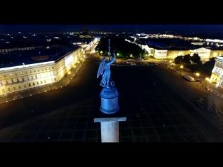 Ночной Питер с высоты