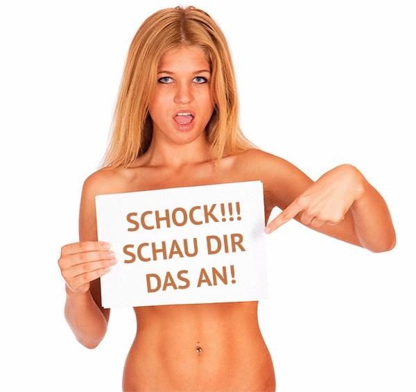 Sich nackt frauen zeigen warum Schamhaar