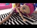 Гимнастика с ЭверАфтерХай — Мишель садится на шпагат! Игры для девочек в кукл