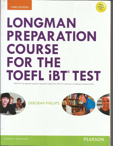 phillips deborah preparation course for the toefl ibt test w