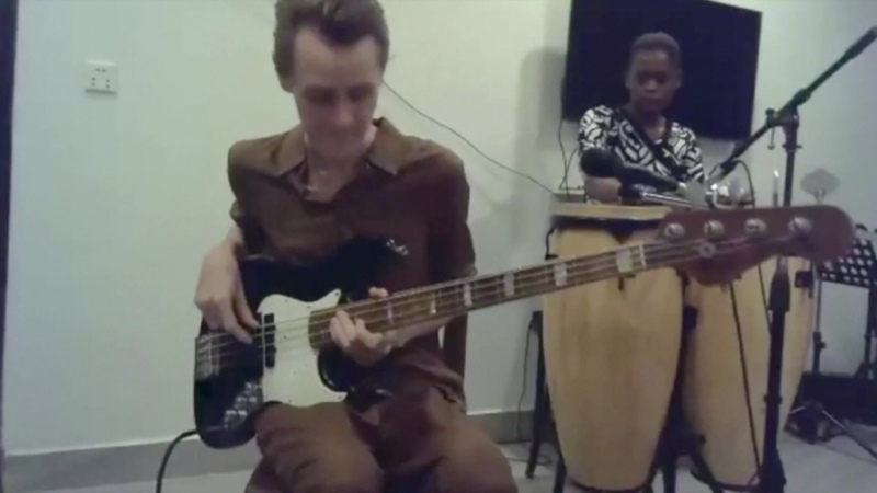 An introduction to konnakol improvising with East african styles of music a composition by German Mamaev and Princess Netashiva