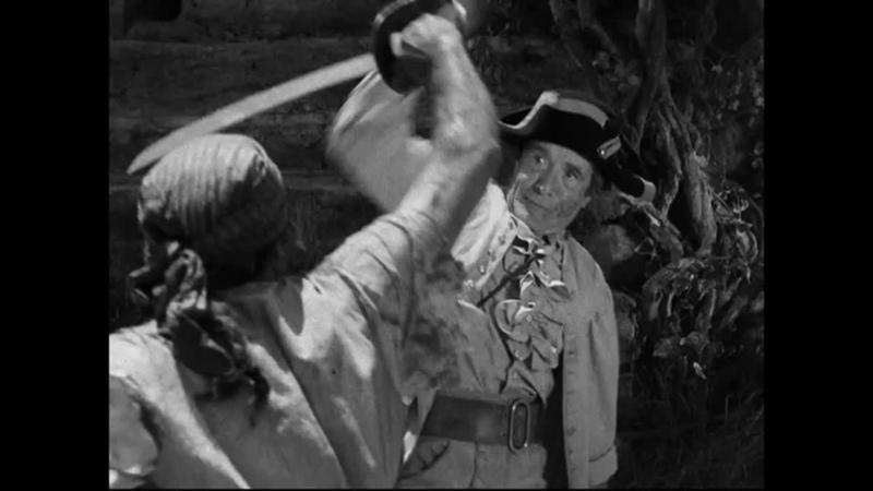 Остров сокровищ 1934 Атака пиратами блокгауза