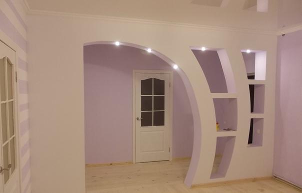 арка в несущей стене