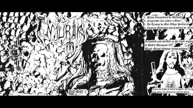 Injuria (Portugal) - Demo I (Demo 2020) Injuria (Portugal) - Demo I - 2020 rawblackmetal raw_black_metal bestialBlackMetal