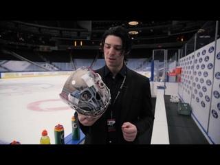 Кэри Прайс презентует новый шлем