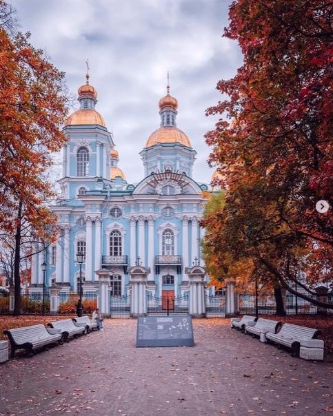 Осень в Никольском Саду🍂💙🍁📷andrei_mikhailov...