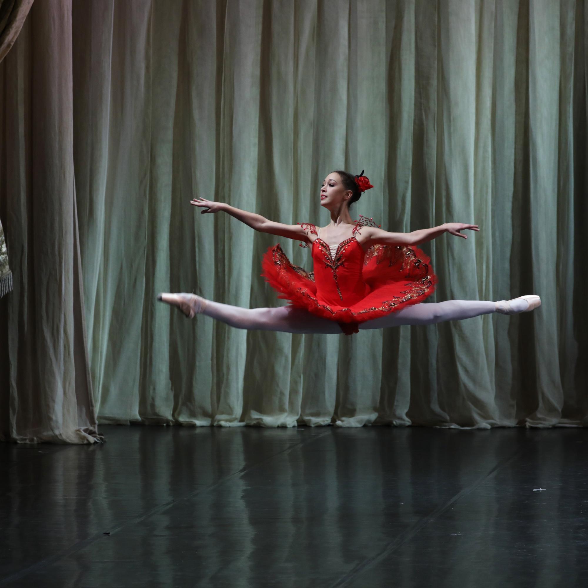 """Вариация из балета """"Дон Кихот""""."""
