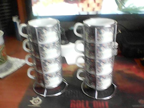 набор для чаепития или кофе на 8 персон фарфор в д...
