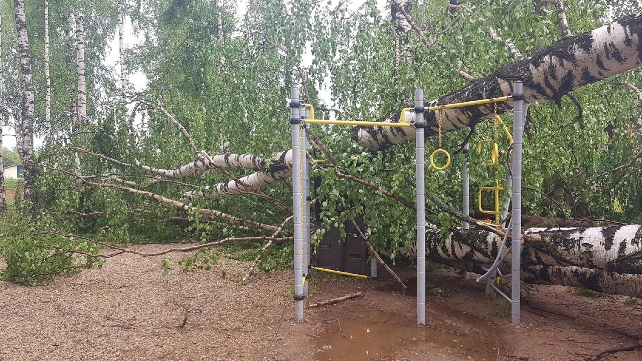 23 июня в Игре прошел ураган. Стихия