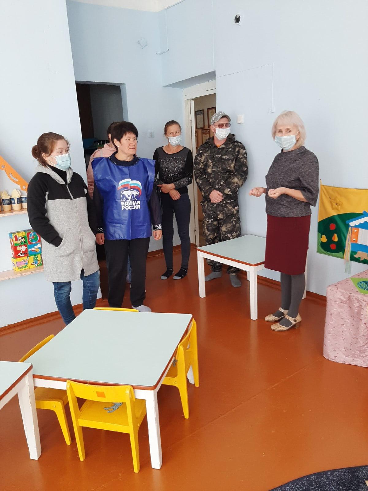 В Большекибьинском детском саду прошла родительская приемка.Родители