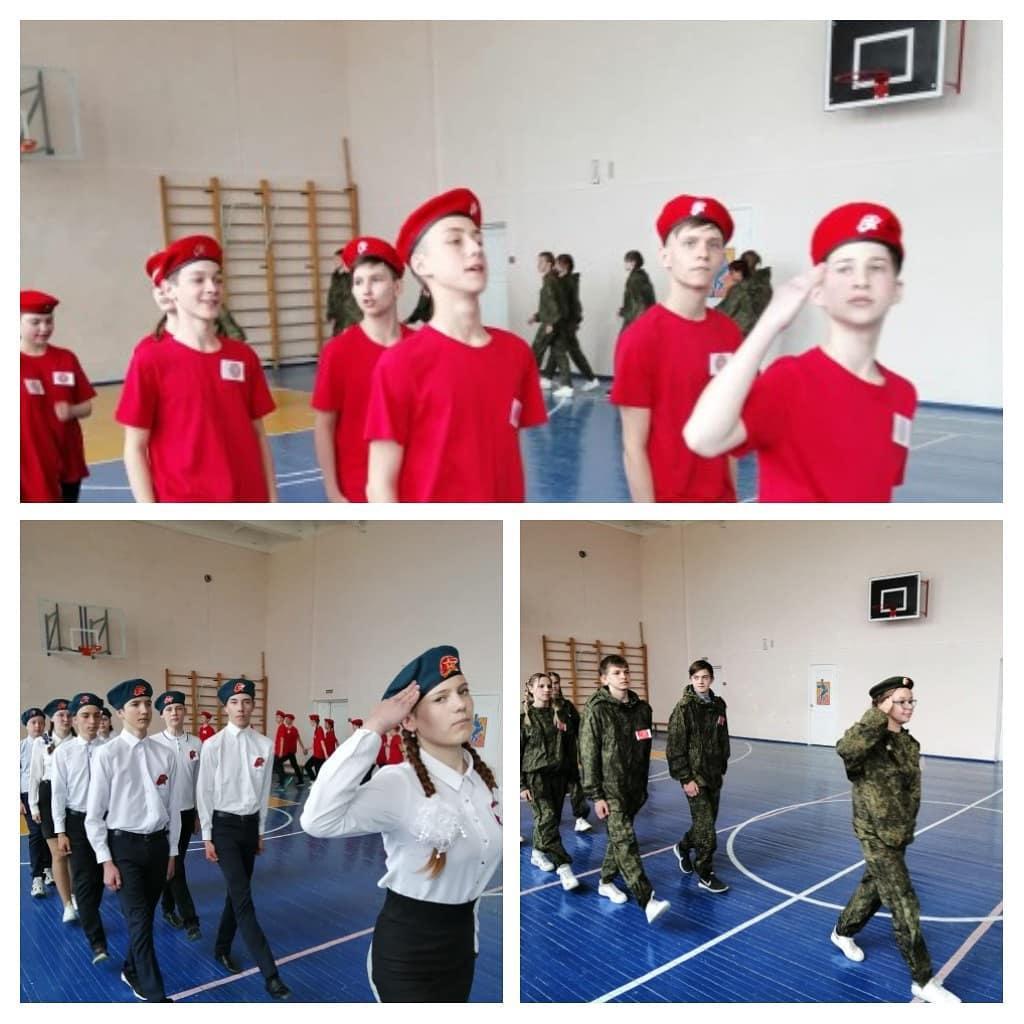 В Петровске определили победителей смотра юнармейских отрядов