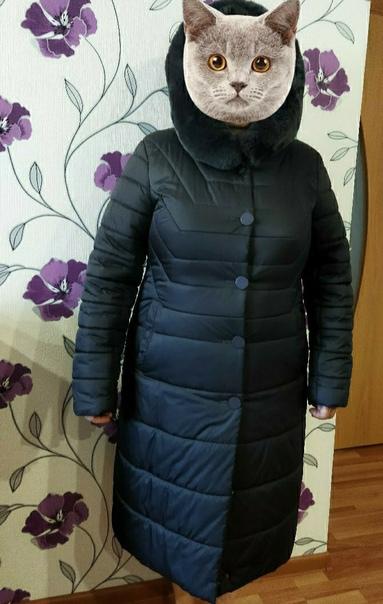 Продам зимний пуховик в отличном состоянии, размер...
