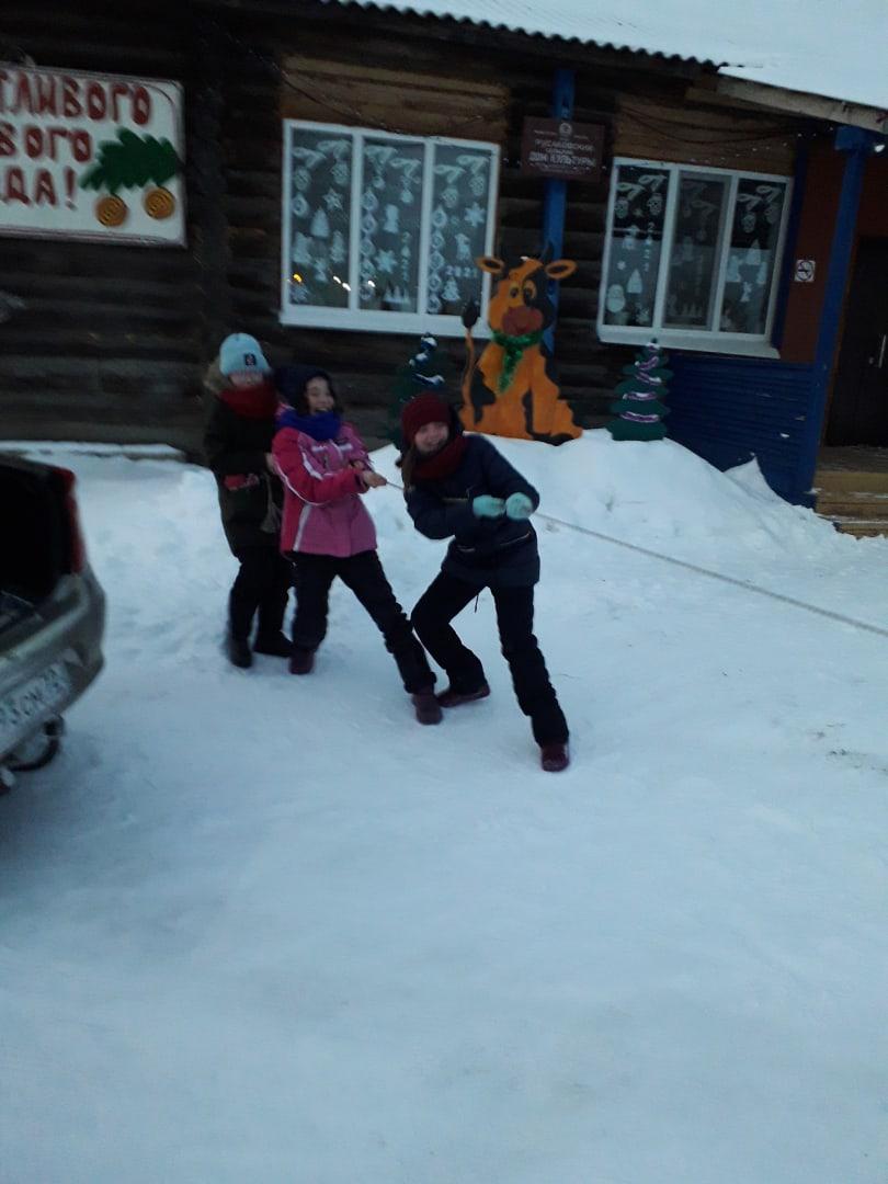 Жители Русаковского сельского поселения встретили новый спортивный год