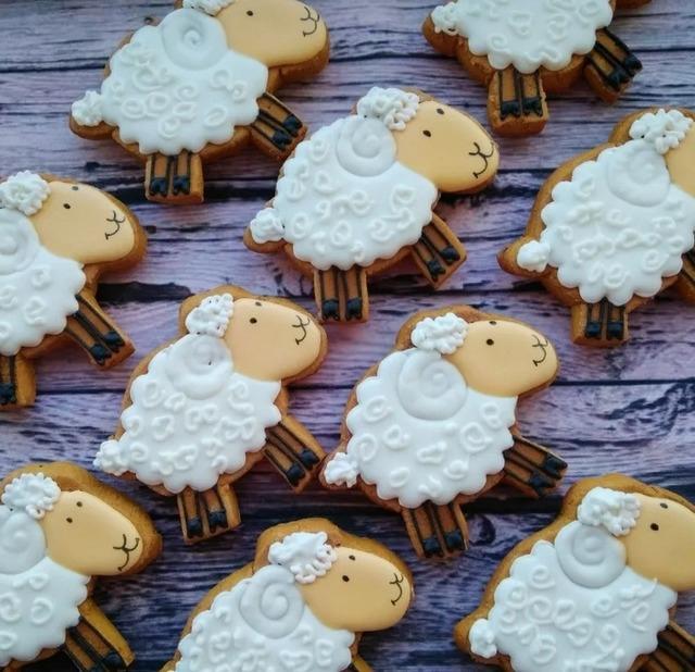 Овечки и барашки к Пасхе, Вербному или году Овцы — рецепты и идеи