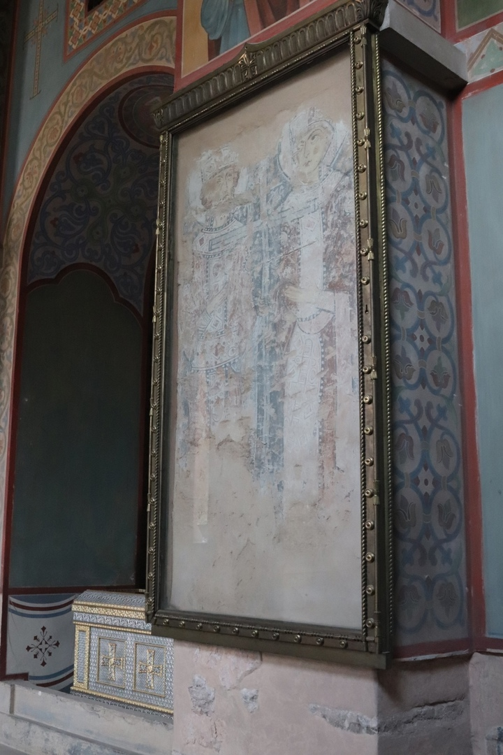 Фрески внутри Софийского собора