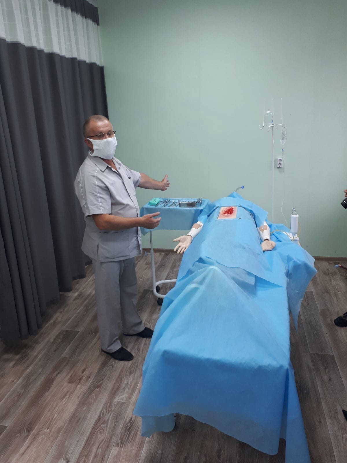 Новые кабинеты презентовали сегодня в Можгинском медколледже