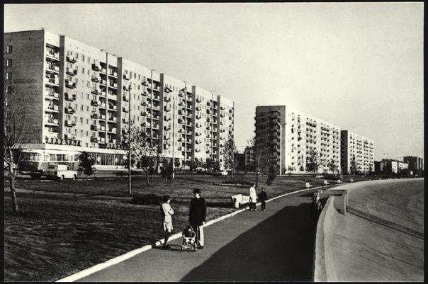 Ретроспектива. Омск. 1976 год. На Иртышской набере...