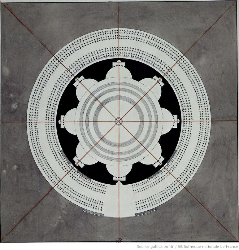 Загадка архитекторов Этьена Булле и Клода Леду идеи которому давали «сущности выходящие из тени», изображение №15