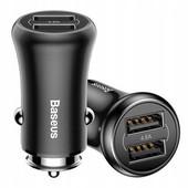 Автомобильные зарядное устройство Baseus 2 USB (2,4;2,4A)