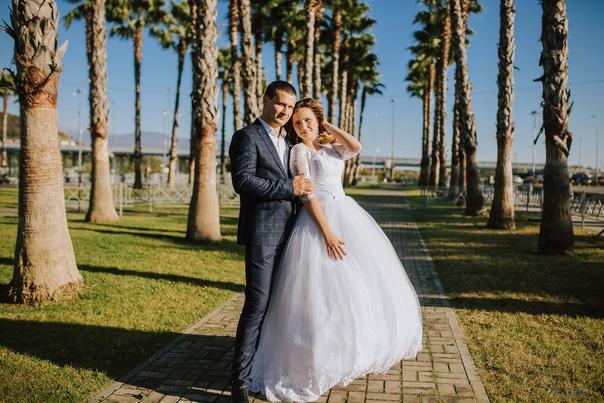 Свадебная фотосессия в Сочи. Христина 11.19
