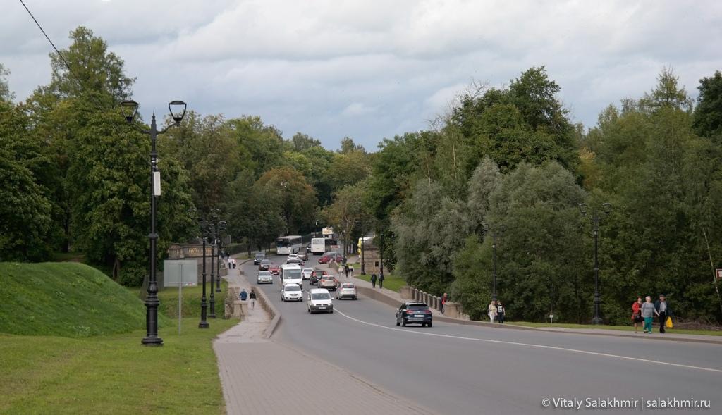 Прогулки по Гатчине, путешествие по России 2020
