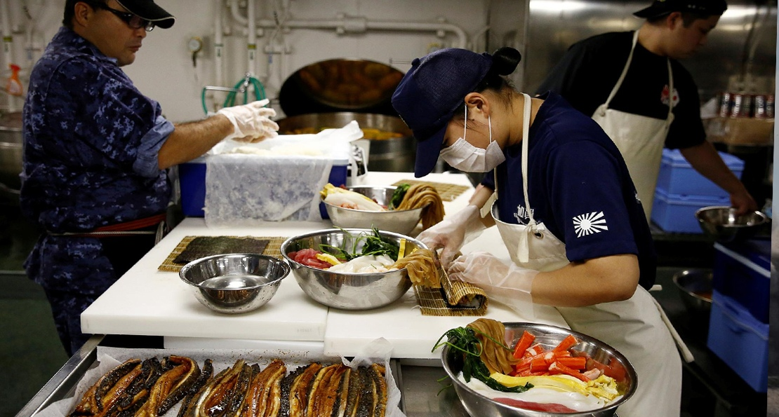 Питание на флоте Японии