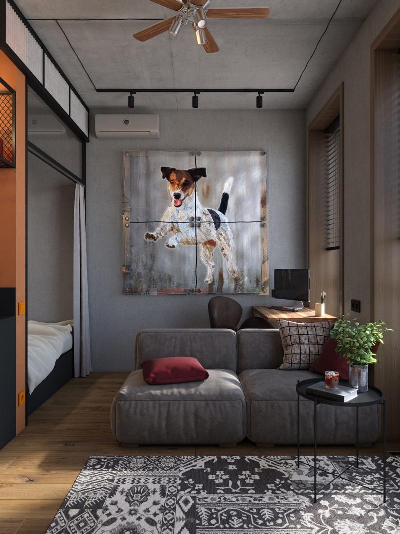Проект квартиры 28 кв.