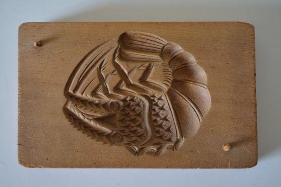 Японские деревянные резные формы Кашигата, изображение №10